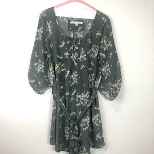 LC Lauren Conrad size 10 floral mini dress